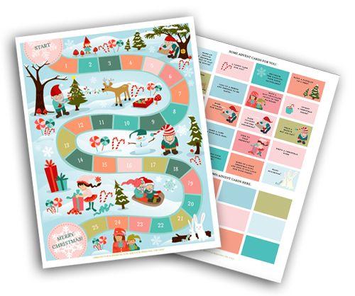 Advent Calendar Printable Game Alpha Mom Printable Advent Calendar Advent Calendars For Kids Calendar Printables