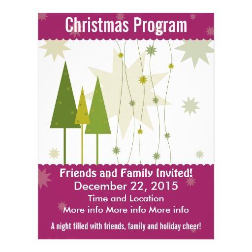 Christmas Tree Printable Coupon: Christmas Program Green Xmas Trees (With Images