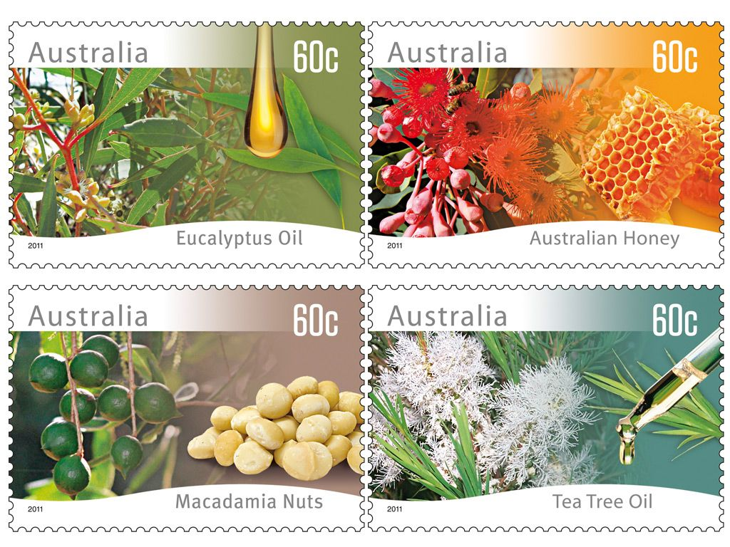 Australia Stamps Aromatic Australia All About Stamps