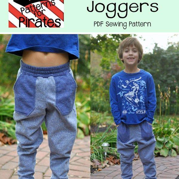 Baby Bear Joggers-PDF sewing pattern for joggers, sweatpants, sweats ...