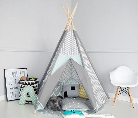 tipi tipi wigwam zelt kinder tipi zelte zelt playtent von renomad kindertr ume kinder tipi. Black Bedroom Furniture Sets. Home Design Ideas
