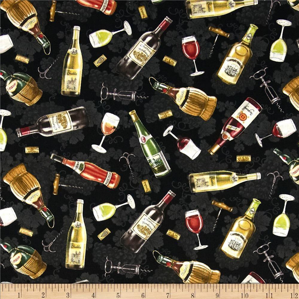 italian vineyard tossed wine bottles black tossed accent colors