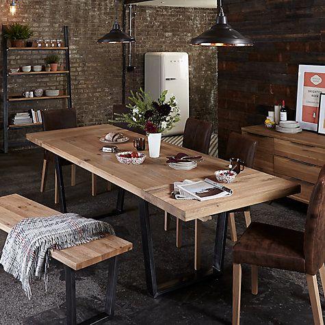 Calia 812 Seater Extending Dining Table  John Lewis Dining Glamorous Dining Room Furniture John Lewis Design Ideas