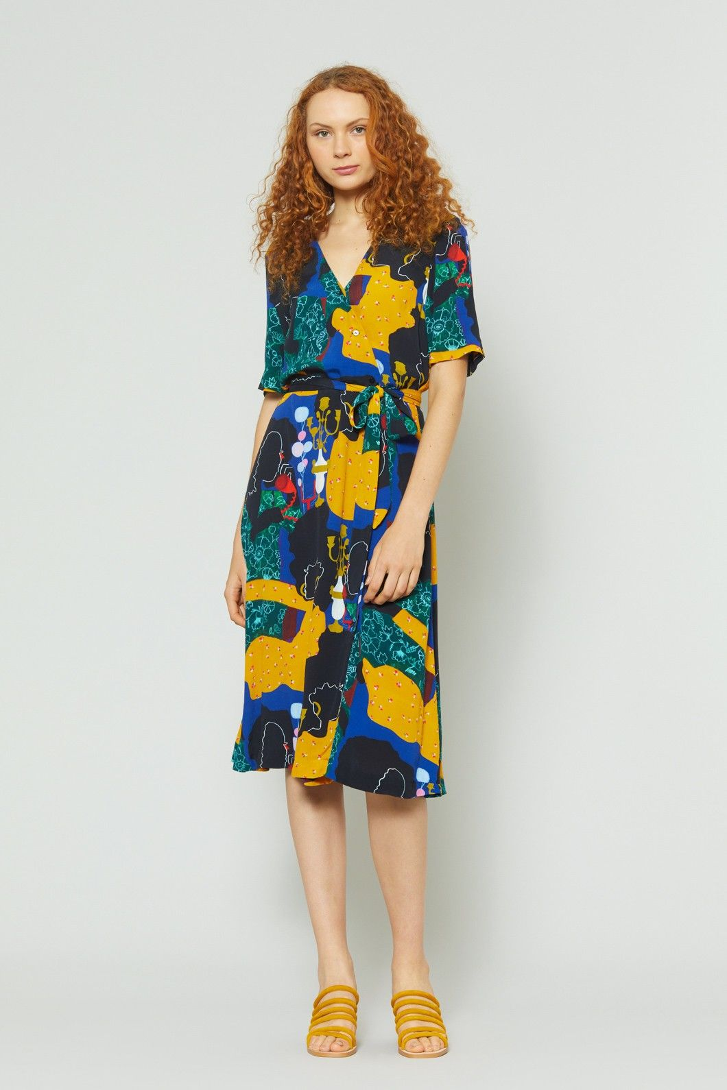 00a6089d4e Gorman Online    Dial Up Wrap Dress - Jamilla Okubo x Gorman - Shop ...
