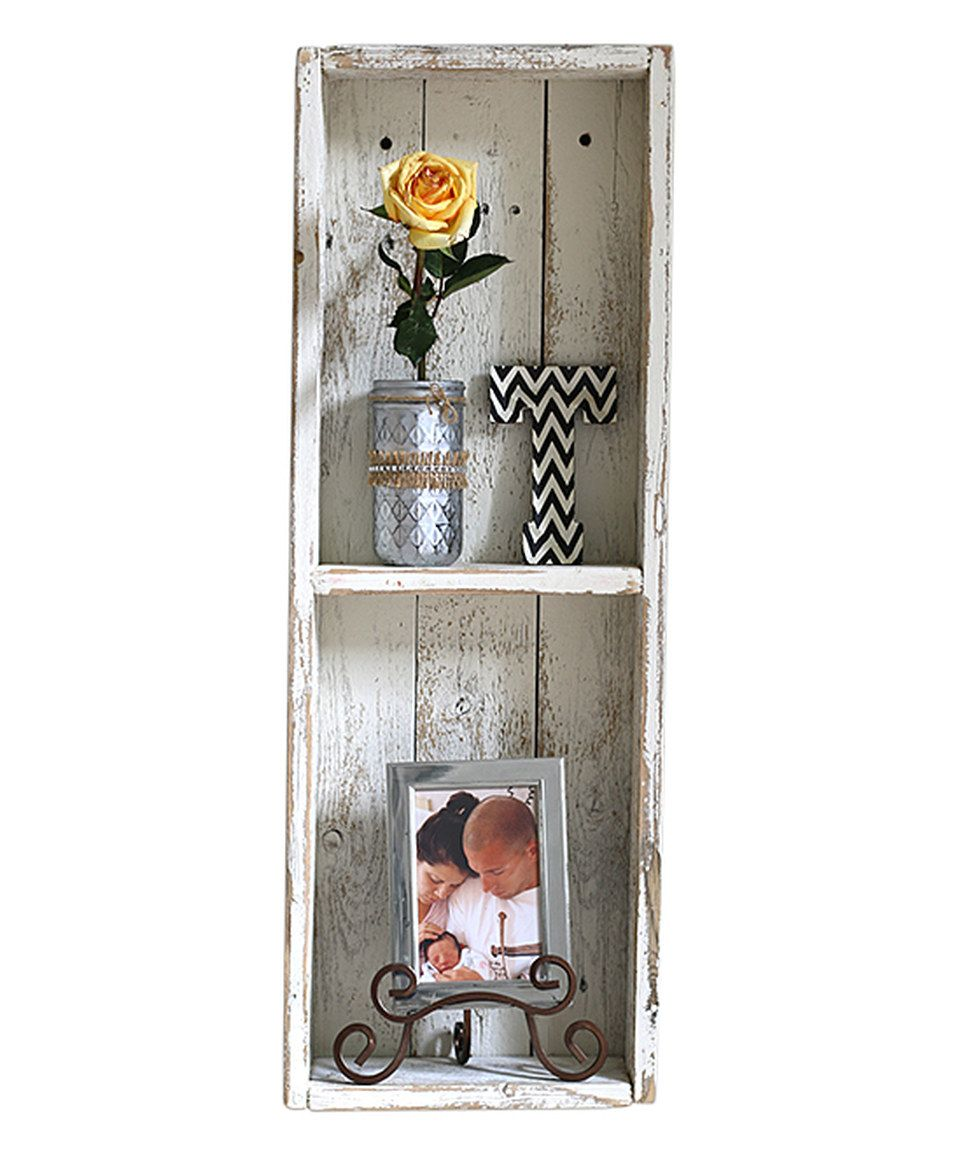 Take a look at this White Double Shadowbox today! | Wood ...