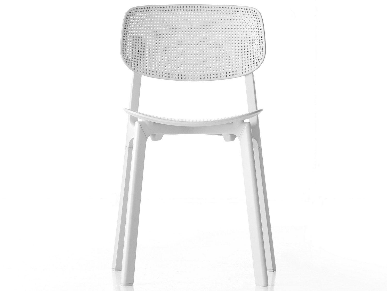 Stackable Polypropylene Chair Colander Kristalia