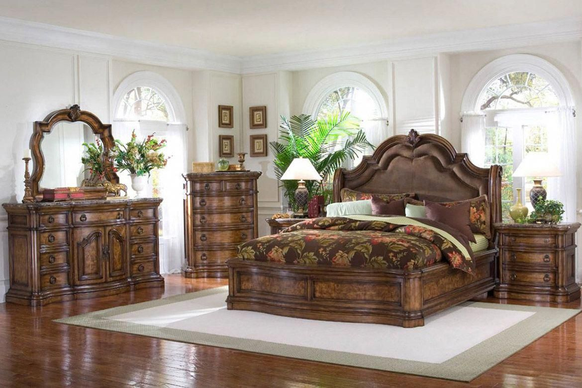 Pulaski San Mateo Platform Bedroom Set bedroomfurniture