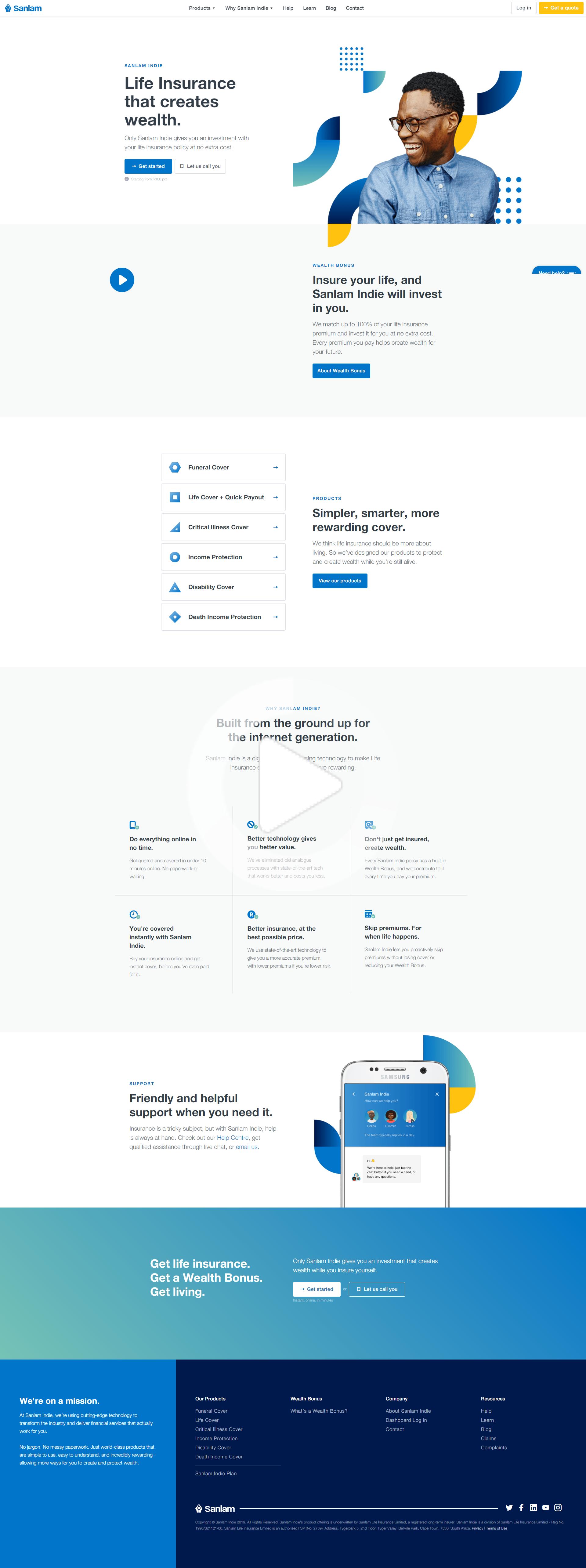 Insurance Landing Page Design In 2020 Best Landing Page Design Landing Page Design Landing Page Inspiration
