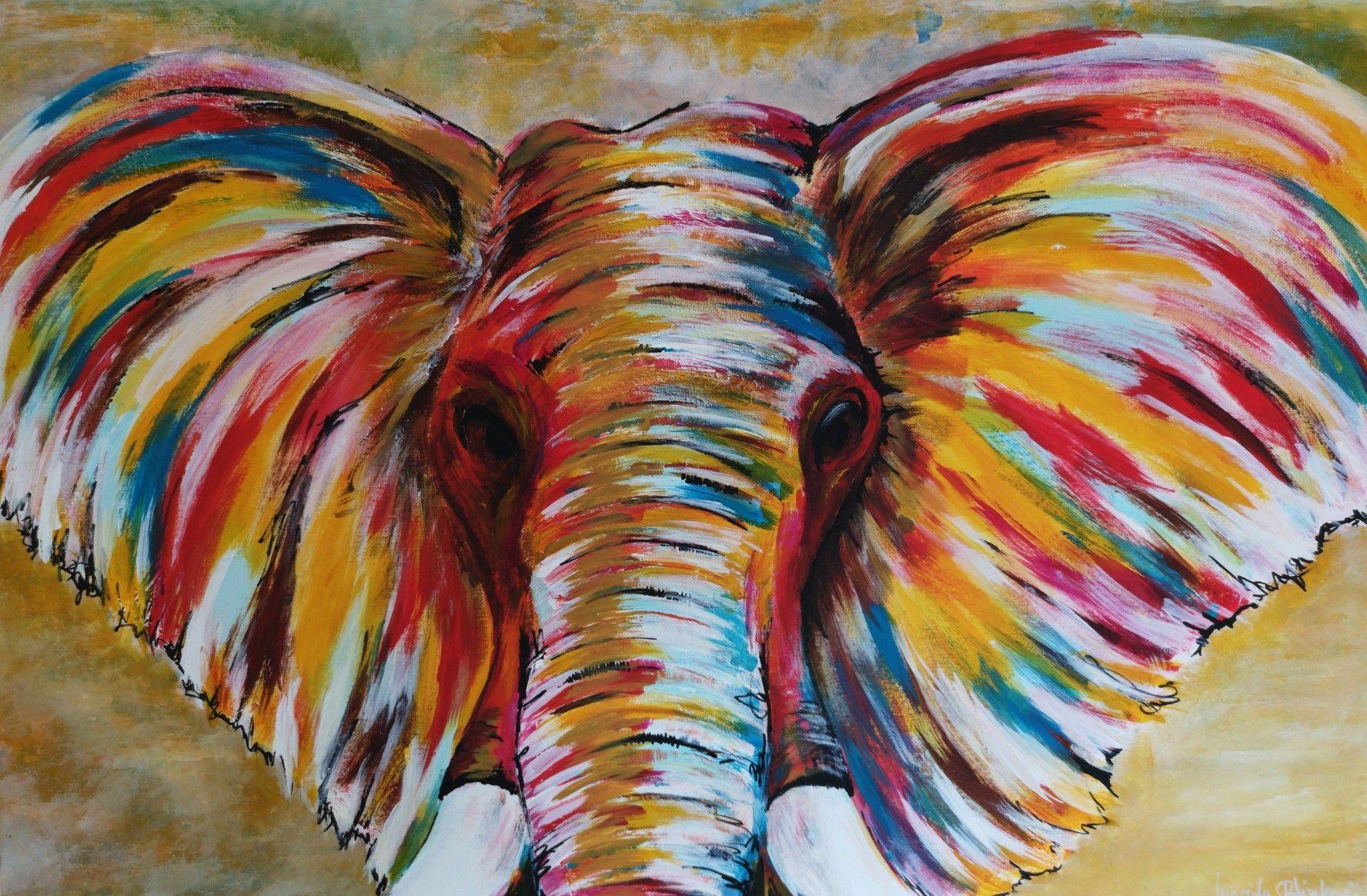Original animal painting - - #Animal #Original #Painting ...