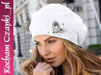 Ciepla Czapka Zimowa Damska Beret Pieczarka Cudna Fashion Baseball Hats Bags