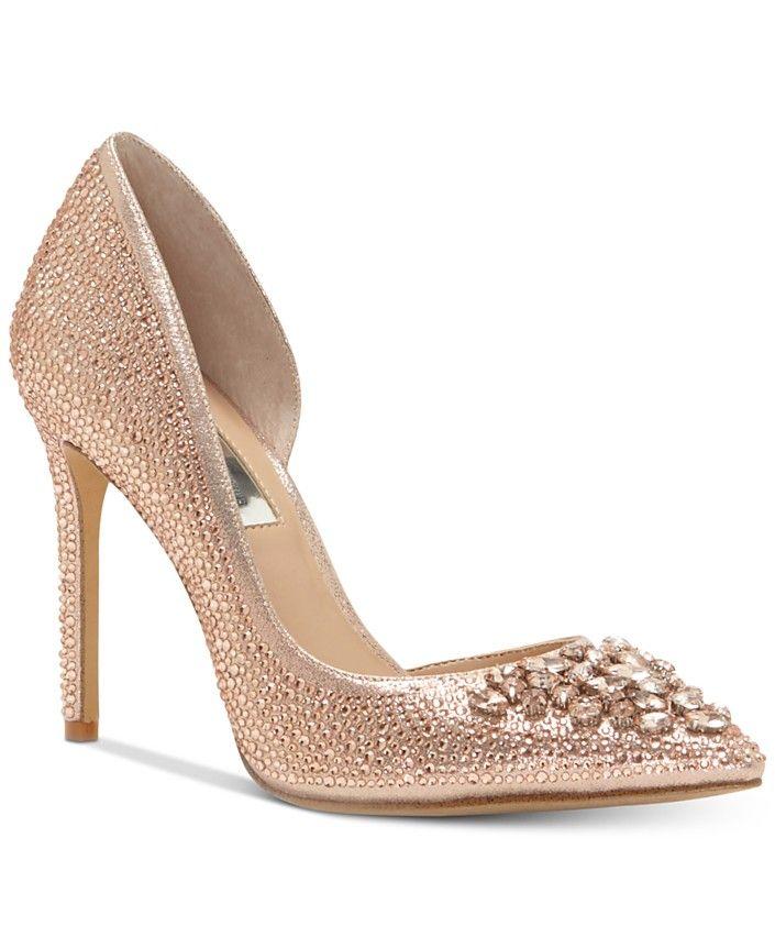 0b116f8bb1 High Heels - Macy's | shoes | Gold heels, Women's pumps, Pumps