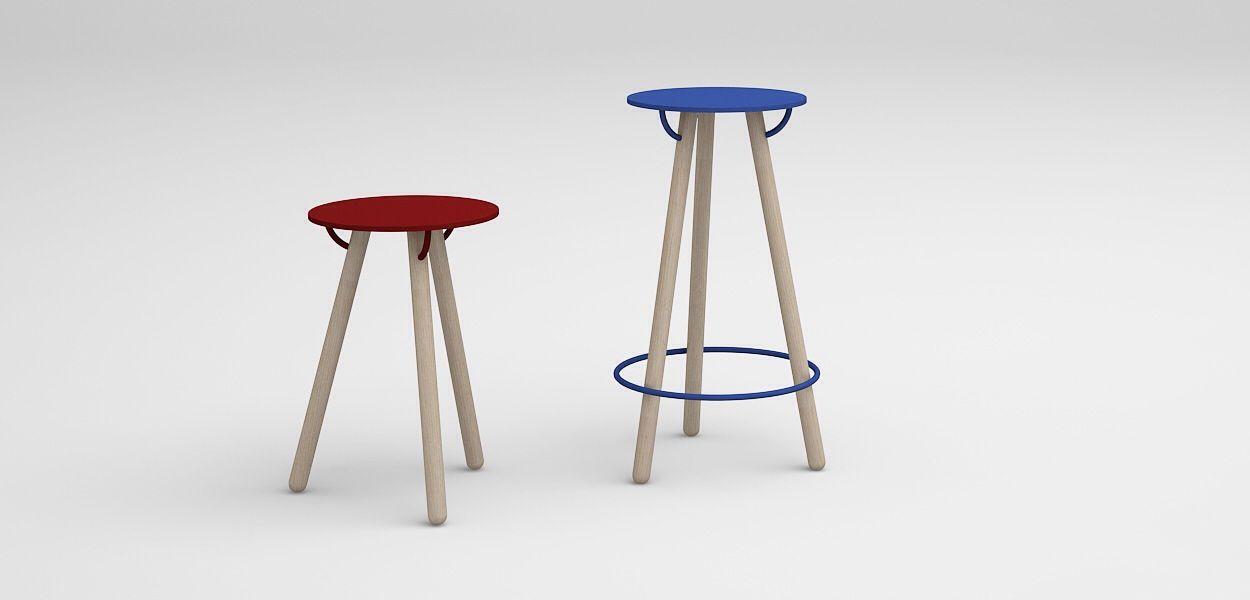 stool design by Ivan Yu