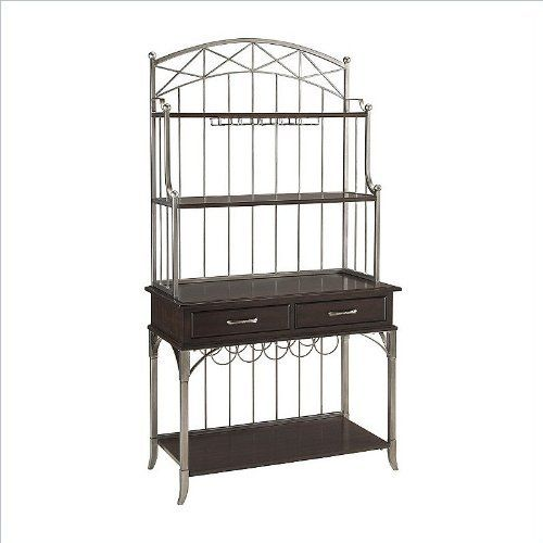 Home Style 5052 615 Bordeaux Baker S Rack Espresso Finish By Home