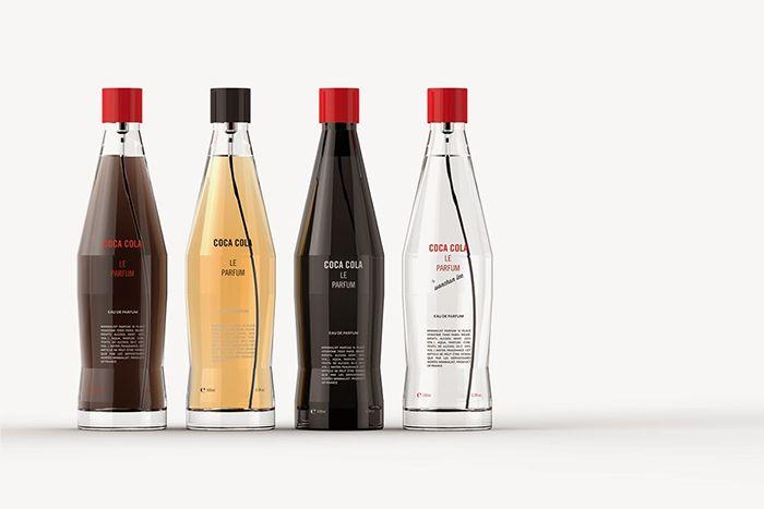 Coca Cola Le Parfum packaging design. Designer: Wonchan Lee, South Korea.