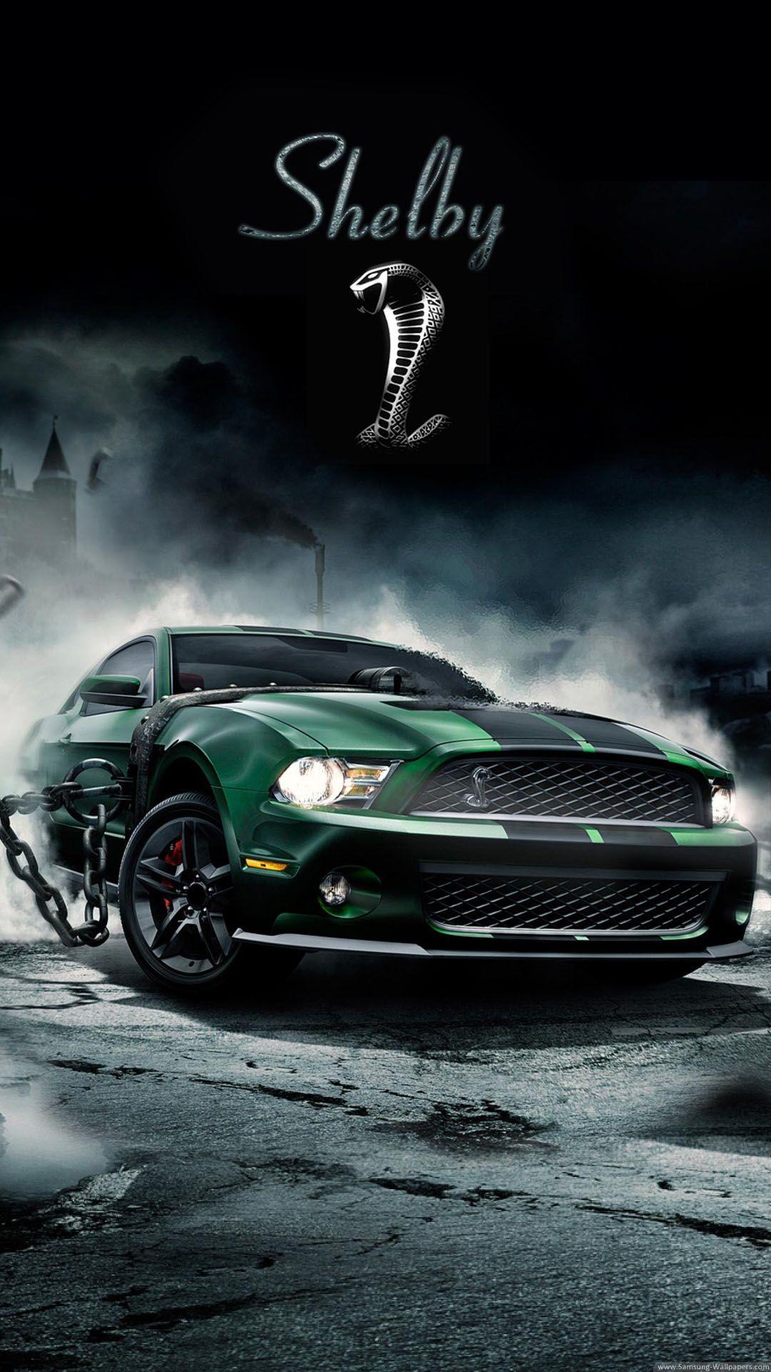 Shelby Cobra Muscle Car Car Iphone Wallpaper Mustang Wallpaper