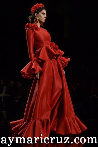 moda flamenca años 70