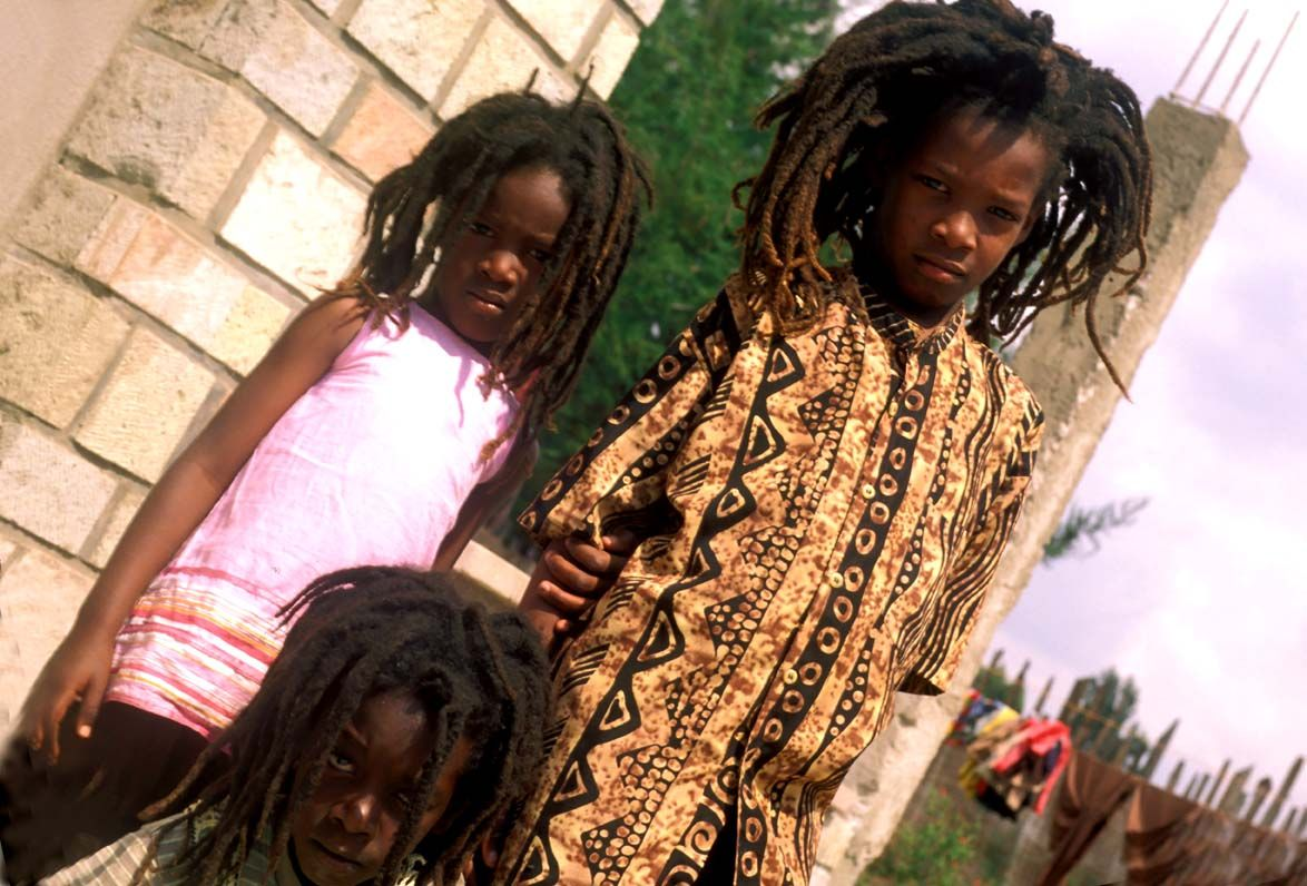 Bambini Indiani ~ Bambini rasta a shashamane etiopia etiopia il sud l ultima