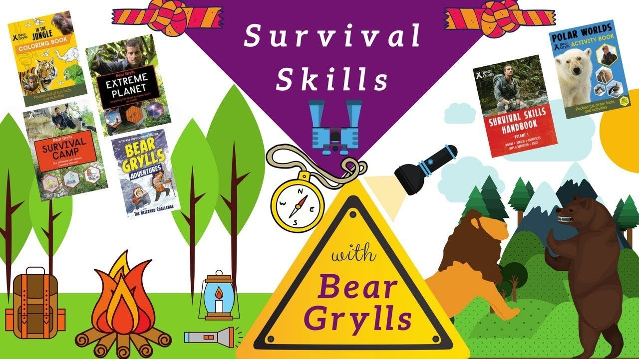 Bear Grylls Survival Skills Books From The Star Of Man Vs Wild Himself There S Activity Books Bear Grylls Survival Childrens Books Activities Usborne Books