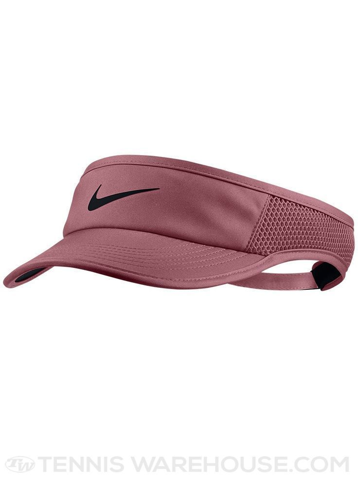 a95105f0464 Nike Adults  Tech Swoosh Visor Hat ( 18) ❤ liked on Polyvore featuring  accessories