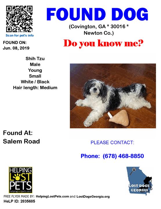 Do You Know This Dog Covington Salem Road Ga 30016 Newton Co