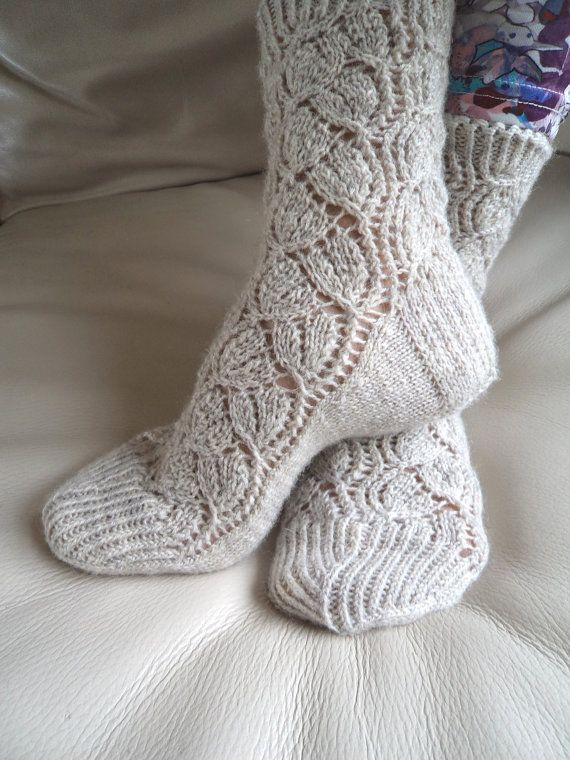 Ladies Lace Socks Hand Knit Luxurious Socks Highest Quality Sock