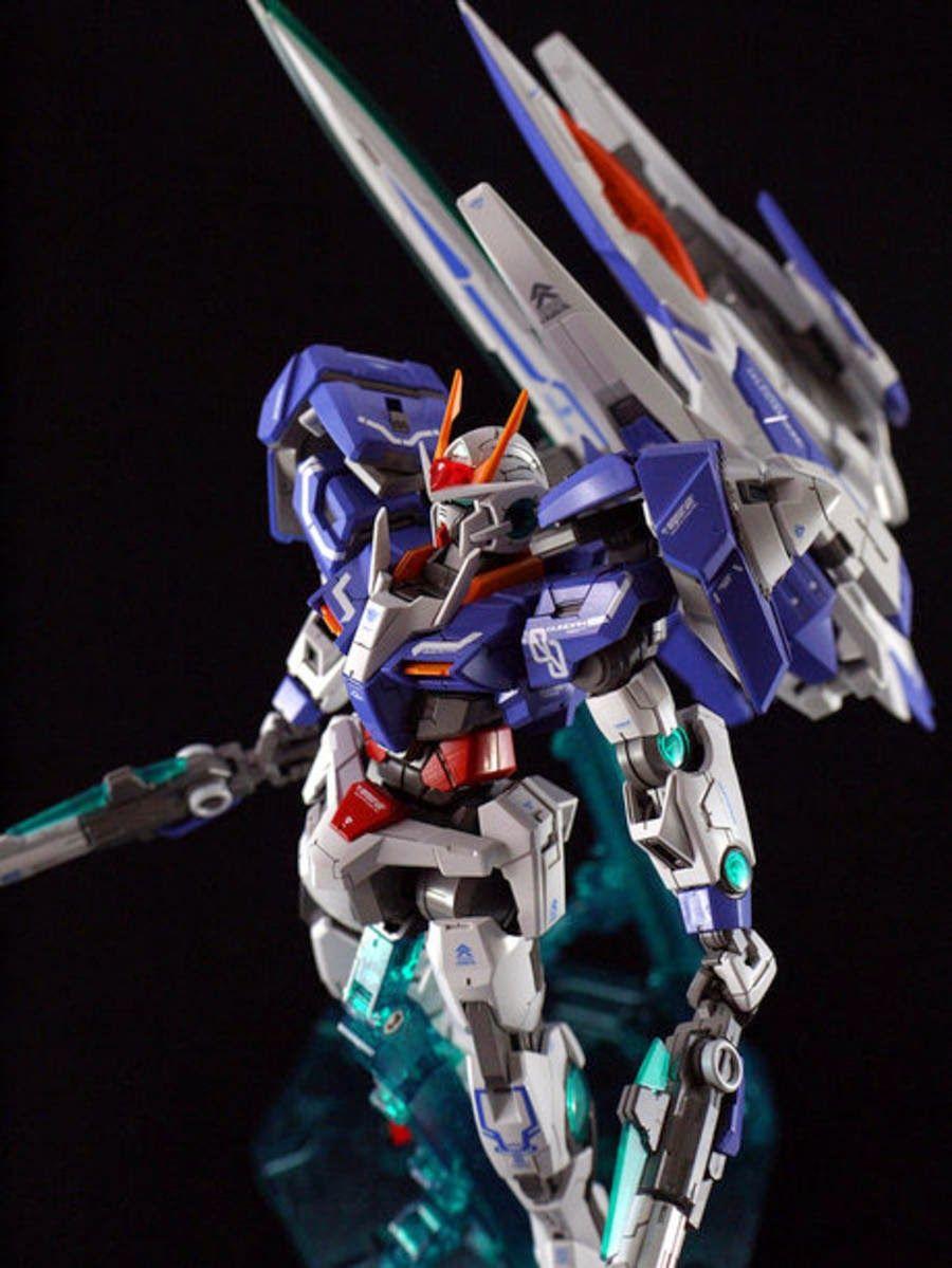 """Custom Build MG 1/100 00 Raiser """"Detailed"""" Gundam Kits"""