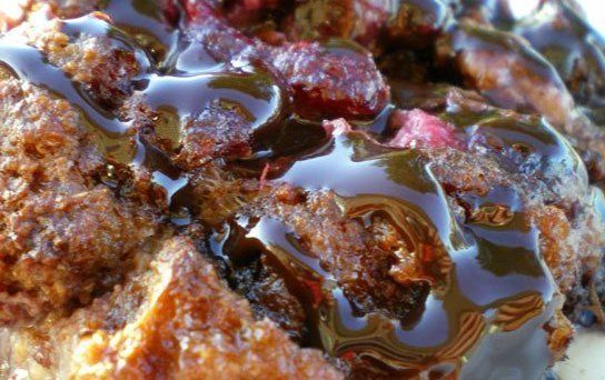 Chocolate Raspberry Banana Bread Pudding Recipe - Details, Calories, Nutrition Information | RecipeOfHealth.com
