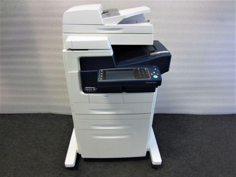 Xerox Colorqube 8900 Drucker Kopierer Usb Fax Netzwerk Duplex Radf