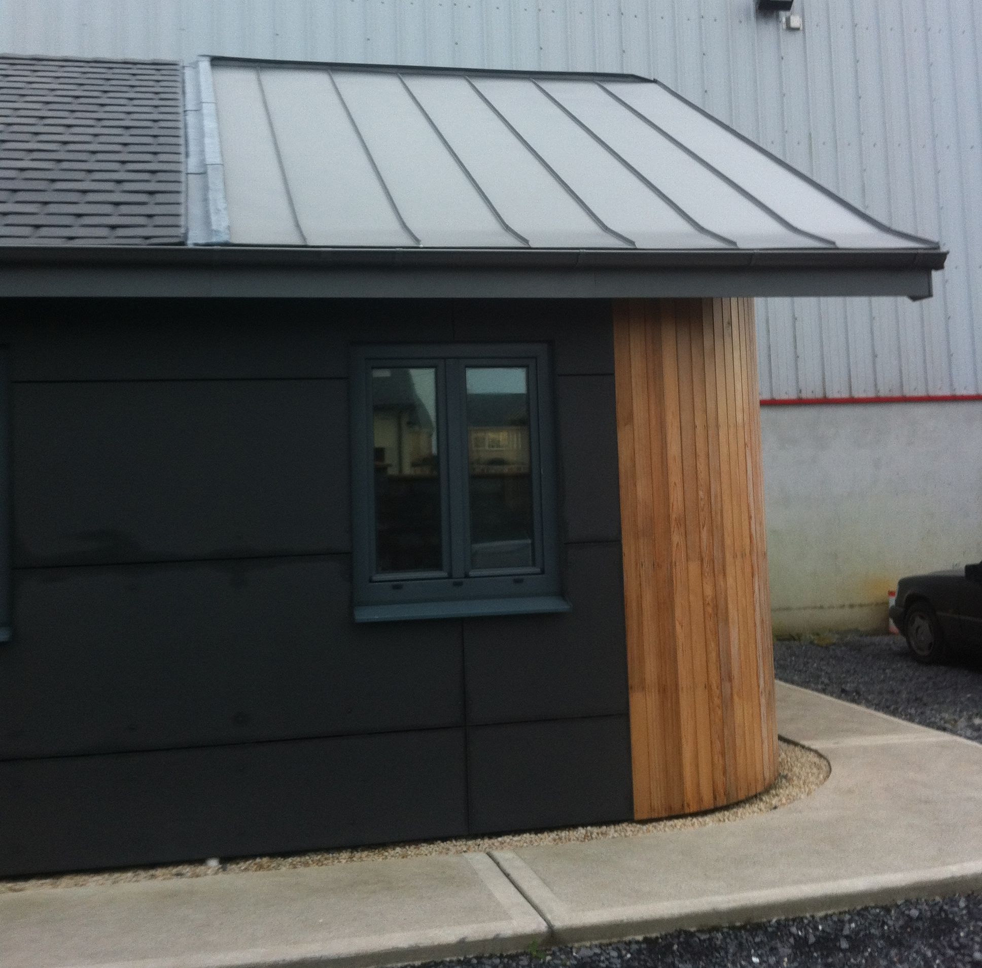 Newell Roofing Products Ireland Dark Silver Ral 9007 Roof