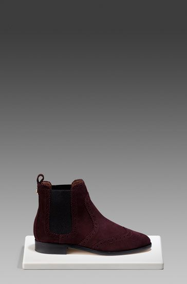 ELASTICATED SUEDE BOOT - View all - Shoes - WOMEN - Portugal