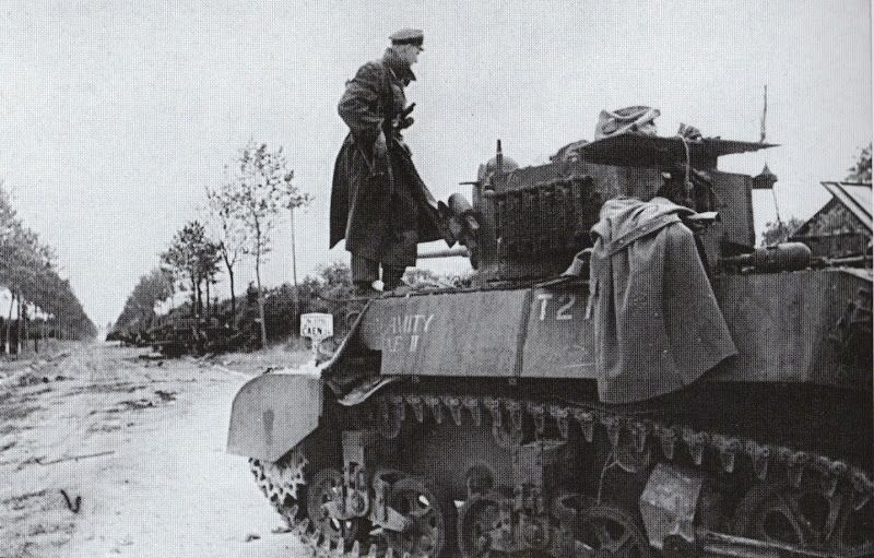 M3A3 Stuart captured