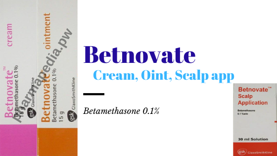 بتنوفيت Betnovate Ointment Pie Chart Cream