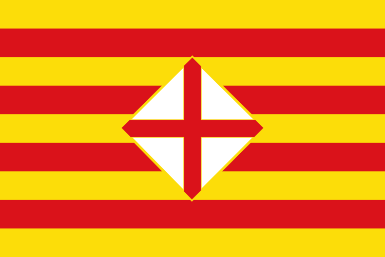 File Flag Of Barcelona Province Svg Wikimedia Commons Flags Of The World Flag Barcelona Map