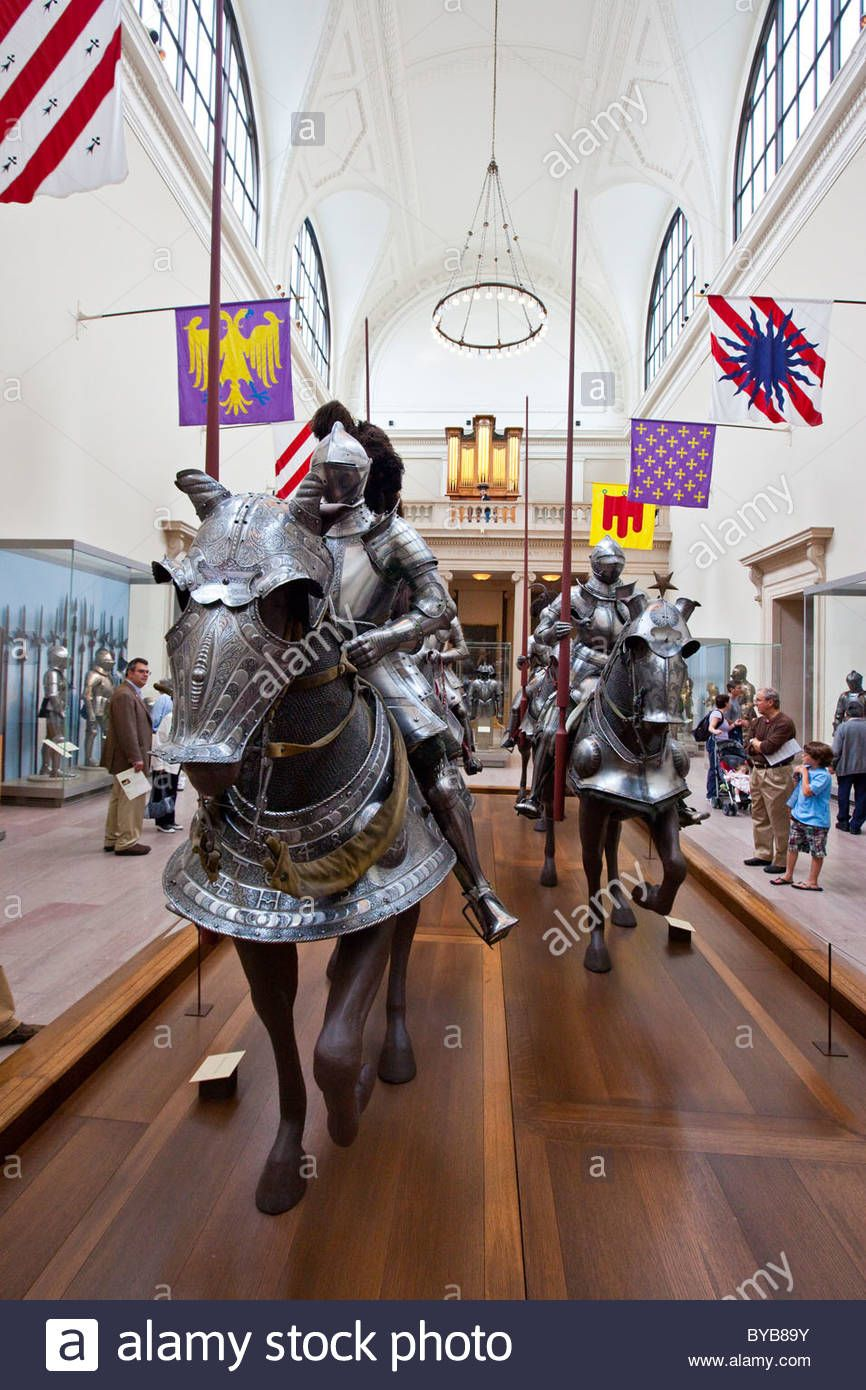 Arms And Armor At The Metropolitan Museum Of Art Stock Photo, Royalty Free Image: 34054103 - Alamy