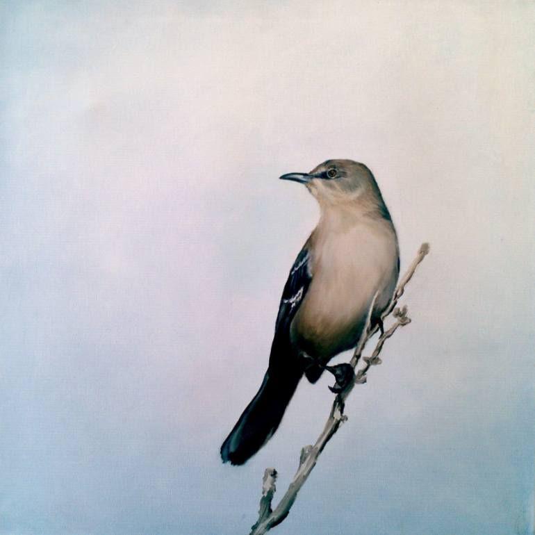 Saatchi Art Mockingbird 1 SOLD Painting By Monica Taylor