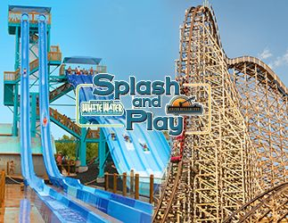 Silver Dollar City White Water Combo Tickets Silver Dollar City Water Park Theme Park