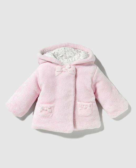 3bab9f6f7 ღ¸.•❤ ƁҽႦҽ ღ .¸¸.• ¨ • Abrigo de bebé niña Dulces en rosa con ...