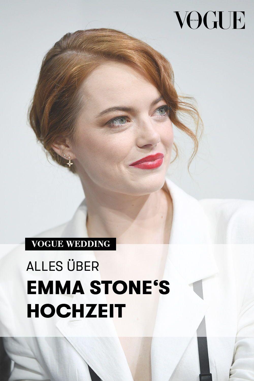 Emma Stone Was Wir Bereits Uber Ihre Hochzeit Mit Dave Mccary Wissen Hochzeit Emma Stone Emma