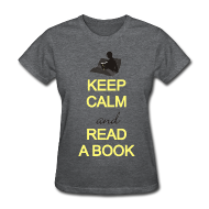 Teacher T-Shirts ~ keep calm and read