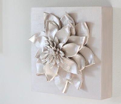 3D Flower DIY Wall Art