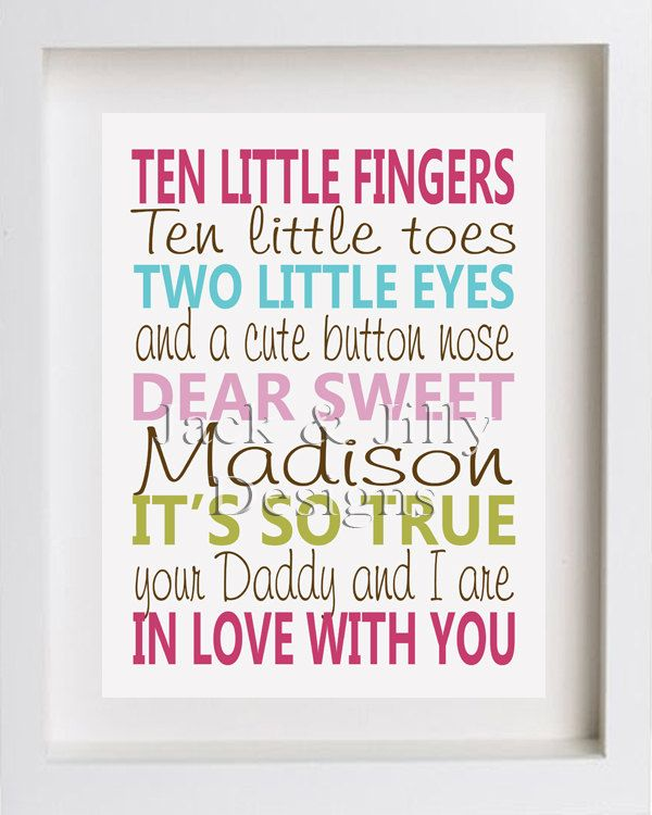 Baby Poems And Quotes: 10 Little Fingers, 10 Little Toes Poem