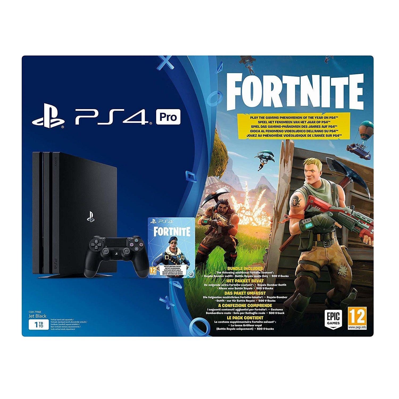 Console Ps4 Pro 1to Noir Fortnite La Console Le Jeu Video A Prix Carrefour En 2020 Fortnite Ps4 Jeux Video