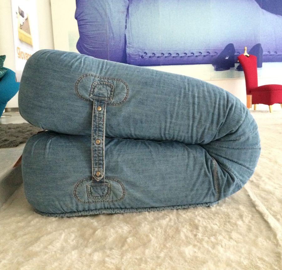 Giovannetti anfibio sofa jeans alessandro becchi - Divano anfibio giovannetti ...