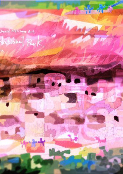#0181-1 #メサ・ヴェルデ国立公園 #アメリカ合衆国 #Mesa-Verde National Park_ United States of #America_ US_ #North-America_ Cultural_ Colorado_ (iii)_ N37 15 42 W108 29 8_ 1978_ Property:21,043ha_ Ref:27