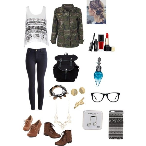 I was bored so I just did this. by johanna-wilhelmsson on Polyvore featuring polyvore, fashion, style, Ally Fashion, Boohoo, Joules, Breckelle's, Your Turn, Forever 21, Kate Spade, Panacea, Bling Jewelry, With Love From CA, Muse, Guerlain and Happy Plugs