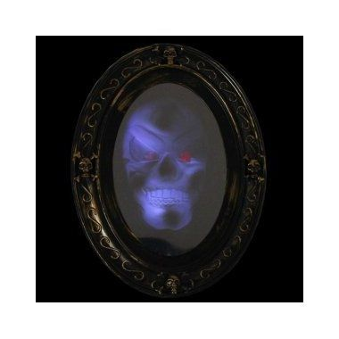 Review Motion Activated Haunted Mirror with Creepy Sound - Luminous - scary halloween house decorations