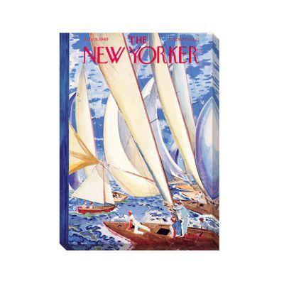 New Yorker Sailing Wall Art