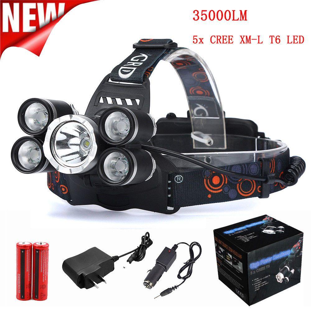 90000LM 3 Modes 3x XM-L T6 LED Flashlight Super Bright Torch Outdoor Light Lamp