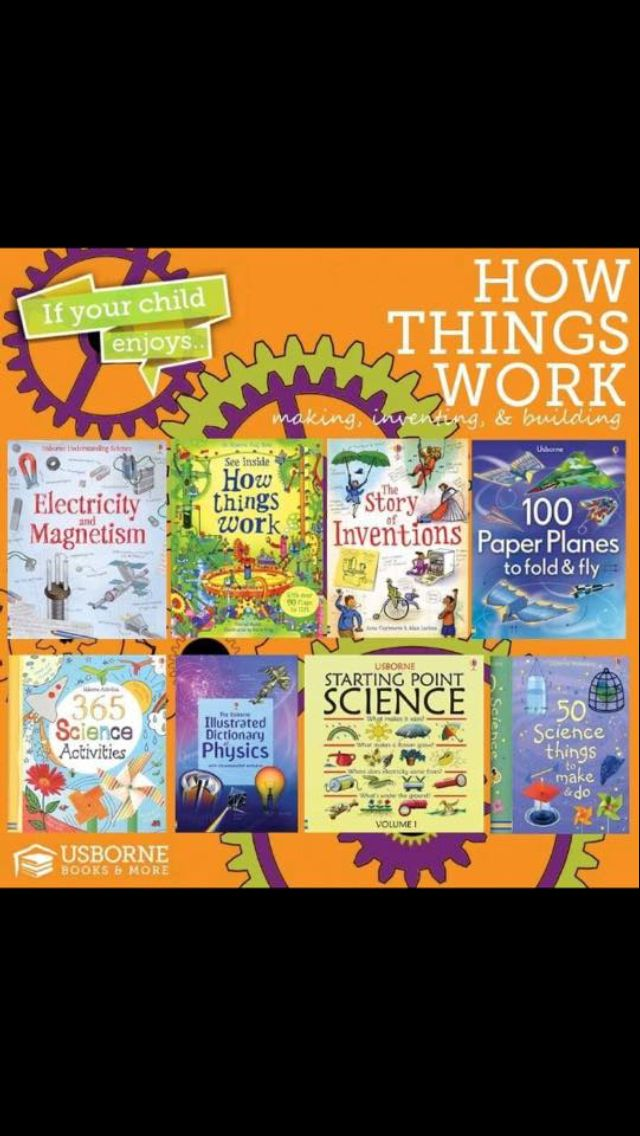 Science Inventions Experiments How Stuff Works Usborne Books