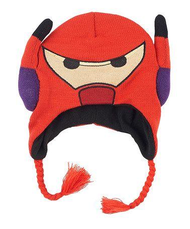 Love this Big Hero 6 Baymax Earflap Beanie by Big Hero 6 on #zulily! #zulilyfinds